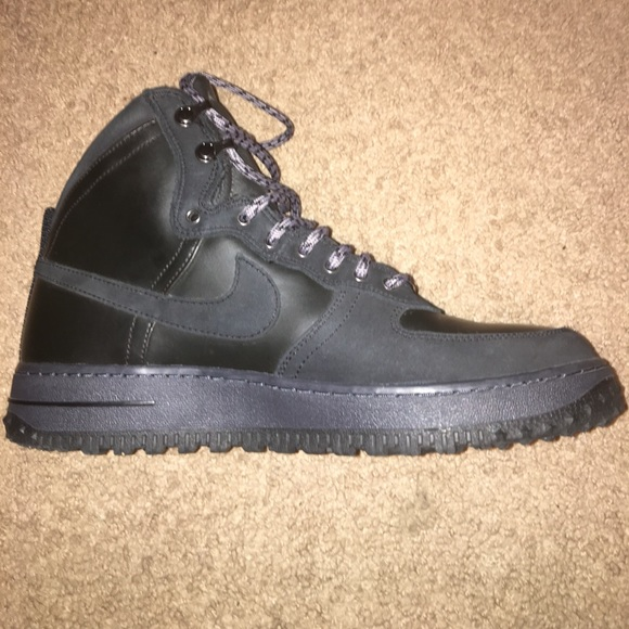 good best wholesaler hot sales Nike Air force 1 XXX boots (Black)