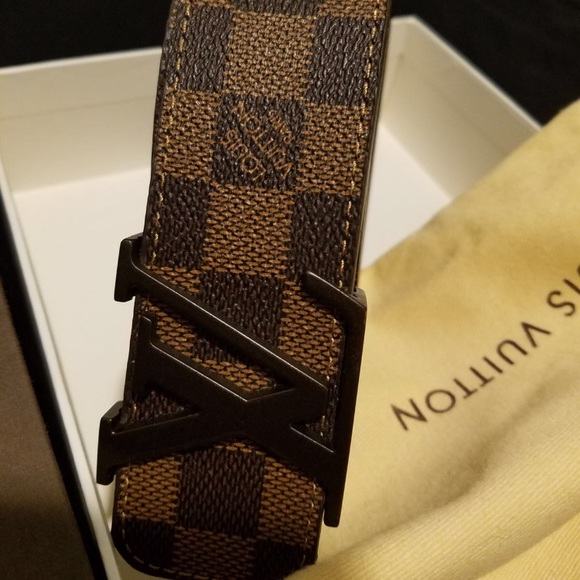 ef7b54eaf541 Louis Vuitton Damier Ebene Belt-- Multiple Sizes