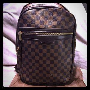 Stylish Checkered Designer Backpack