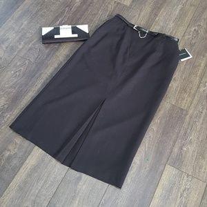 Sag Harbor Black Skirt - Size 14 NWT