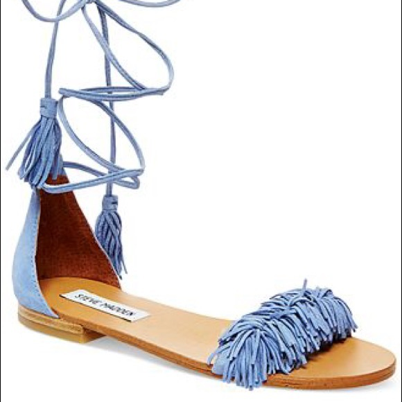 91580ffaf14 Steve Madden Sweetyy Light Blue Sandal - Sz 7. M 595b283536d5949add0e387a