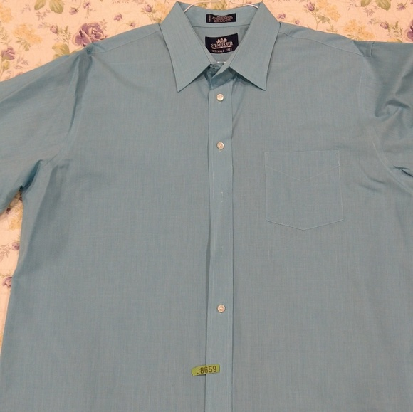 60 off stafford other stafford dress shirt 17 5 x 36 for Where to buy stafford dress shirts