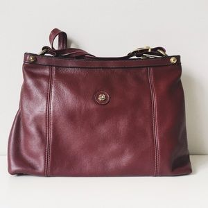 Vintage 70's Burgundy John Romaine bag