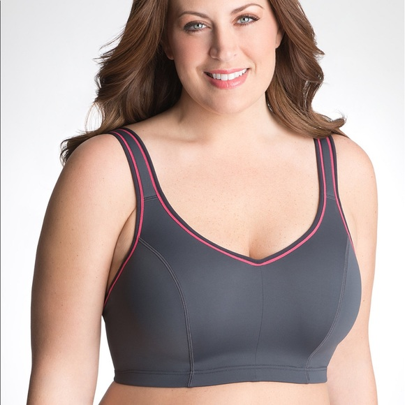 a096d959cc Cacique Other - Lane Bryant Cacique grey sports bra size 40F
