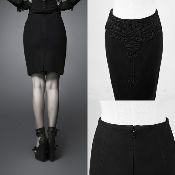 Punk Rave Dresses & Skirts - NWT Suede High Quality Pencil Gothic Skirt