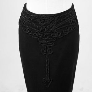 Punk Rave Skirts - NWT Suede High Quality Pencil Gothic Skirt