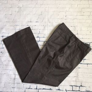 LOFT charcoal grey pants size 6P