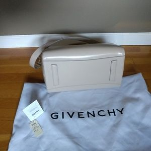 83c7470b81 Givenchy Bags | Antigona Glazed Leather Satchel In Sand | Poshmark