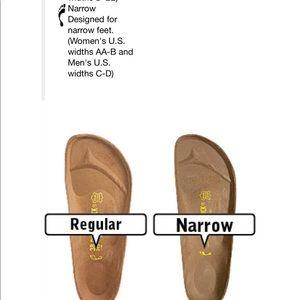 birkenstock narrow regular