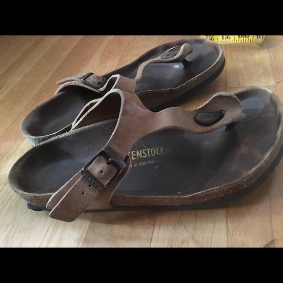 71 off birkenstock shoes birkenstocks tobacco leather. Black Bedroom Furniture Sets. Home Design Ideas