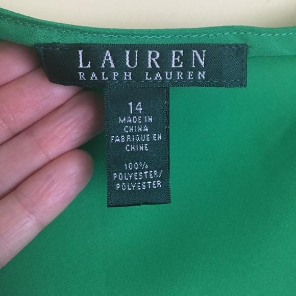 Lauren Ralph Lauren Tops - NWOT Beautiful Kelly Green and Navy Lauren Top