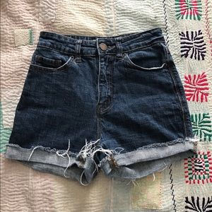 BDG High Waisted Urban Outfitters Denim Shorts
