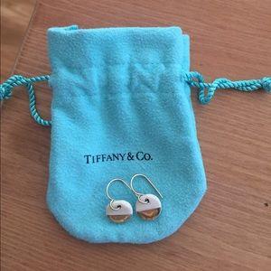 Ceramic dipped earrings