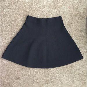 Zara Basic Black Knit Skirt Size M