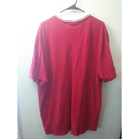 Lacoste sold men 39 s lacoste regular fit red polo shirt for What stores sell polo shirts