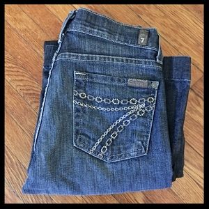 7 For All Mankind Dojo Chain Pocket Jeans