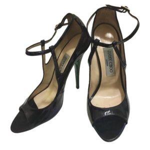 Jimmy Choo Eliza iridescent sandals