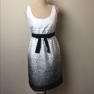 Kate Spade  textured stitch fabric dress