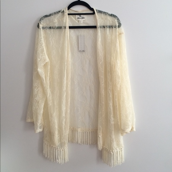 Others Follow Tops -  Lace kimono