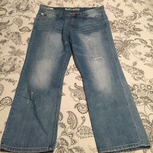 Marc Moto Light Wash Men's Jeans