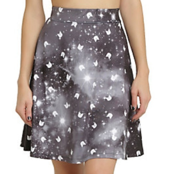 0cc246a4db0c41 Sailor Moon Luna Galaxy Midi Skirt