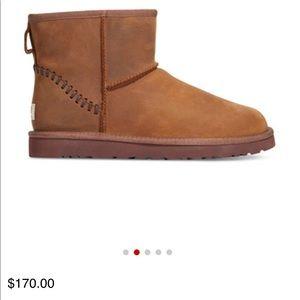 Ugg classic mini deco men's boots new Authentic