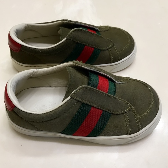 48% off Gucci Other - Gucci Signature baby boy sneakers ...