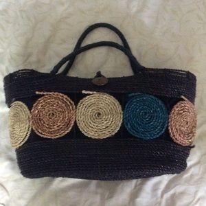 Handbags - NWOT Large Straw Tote