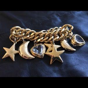Jewelry - Moon heart star bracelet
