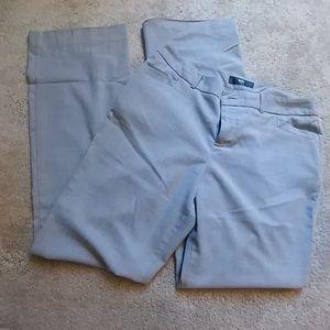 Pants - Grey. Stretch dress pants