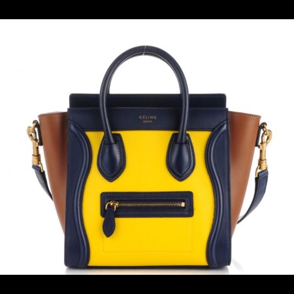 31d6989b2be8 Celine Nano Luggage Shoulder Bag NWT