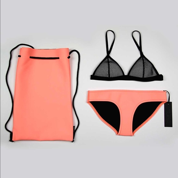 a97add1090 triangl swimwear Swim | Triangl Tilly Sunburst Neoprene Bikini Size ...