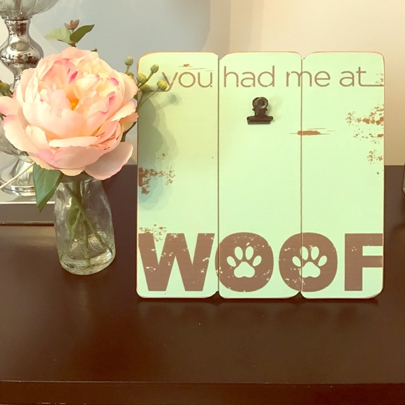Final Price You Had Me At Woof Picture Frame | Poshmark