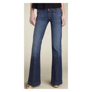 'Faye' Low Waist Full Leg Jeans