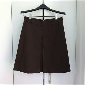 Banana Republic A-Line Box Pleat Skirt