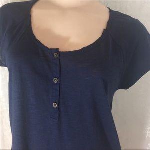 Lucky Brand blue Top. B016