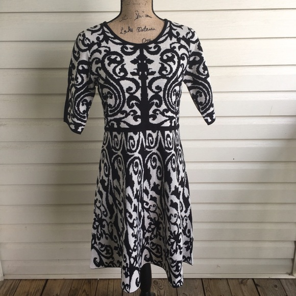 4b9502d6ab NWT Cato 3 4 Sleeve Sweater Dress