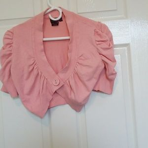 Sweaters - Coral shrug