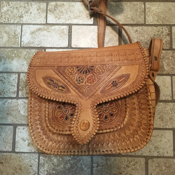 vintage Bags | Moroccan Leather Purse Handmade