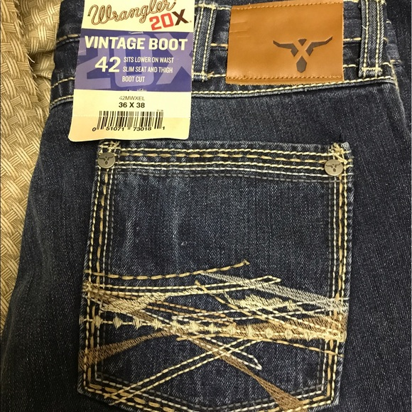 49% off Wrangler Other - NWT 20x by wrangler. Vintage boot ...