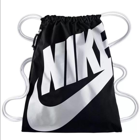 87a69779bbfa Nike Heritage Gym Sack Draw String Backpack