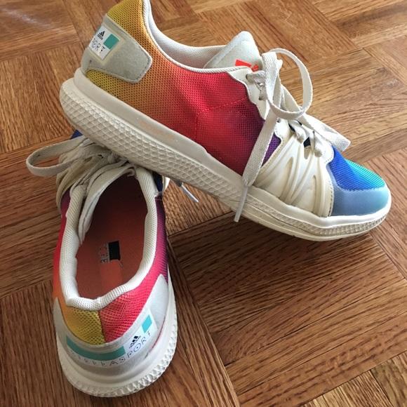 002992aa0f13f Adidas by Stella McCartney Shoes - Stella McCartney for Adidas rainbow  sneakers