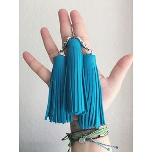 Electric Blue Tassel