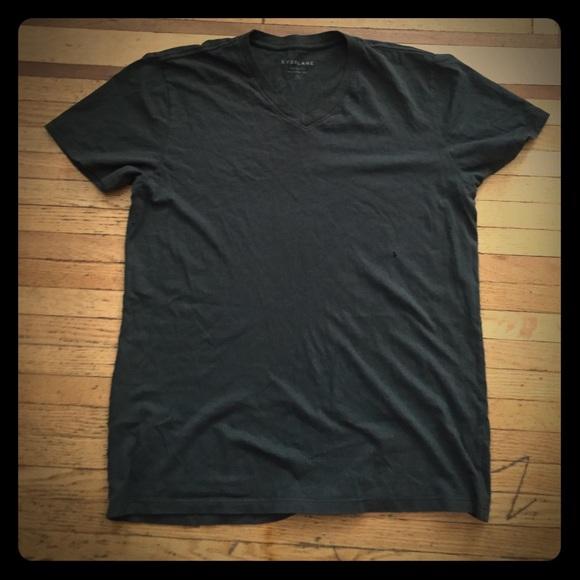 Everlane Dark Olive Green T shirt sz small