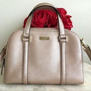 ✨♥️ kate spade rose gold satchel ♥️✨