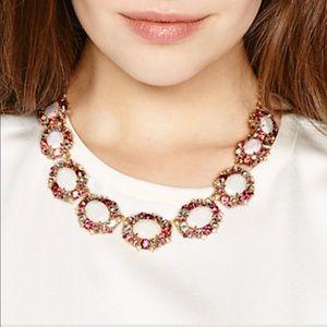 Kate Spade Garden Bed Collar Statement Necklace