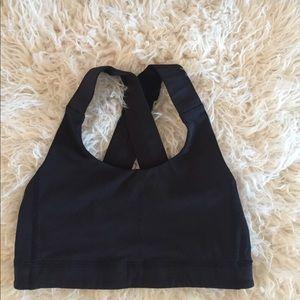 30679d6b738c0 lululemon athletica Intimates   Sleepwear - Lululemon all sports bra black  size 2