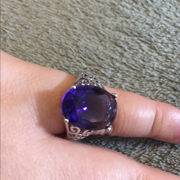 leroy jewelry leroy gorgeous 7ct amethyst sterling silver 925 7336