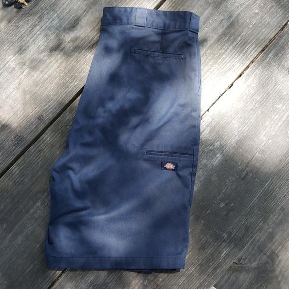 Dickies Shorts 4 Dickies Navy Blue Loose Fit Shorts Cholo Poshmark