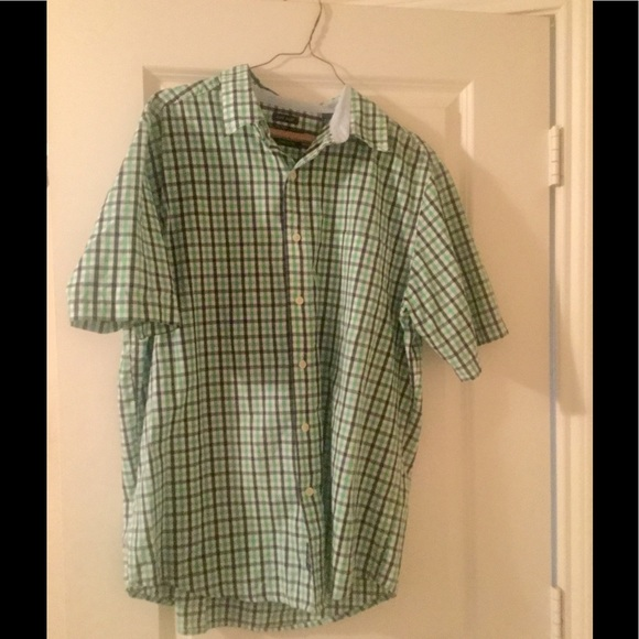47 off chaps other chaps short sleeve button down for Chaps button down shirts